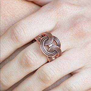 Join Forces Copper ring
